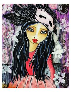 Lisa Ferrante's Mixed Media Love