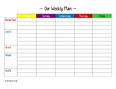 Meal Planning Tips For Newbies  Meals Weight Loss And Organizations