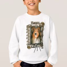 Fathers Day - Stone Paws - Sheltie Sweatshirt