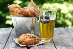 Delicious cheese soft pretzels recipe, flavoured with lots of aged cheddar cheese and fresh sage. Perfect partner for cold beer.