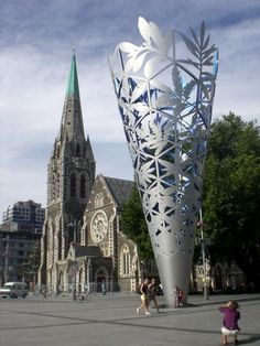 Old and New design existing in harmony. Christchurch, NZ