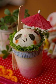 panda sundae #kids #lunch