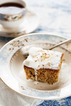 Gingerbread Desserts: gingerbread coffee cake