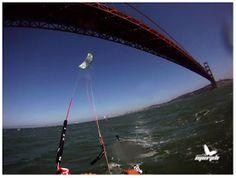Morph Kiteboarding: Golden Gate , San Francisco CA. Golden Gate, Wind Turbine, San Francisco, Adventure, St Francis, Adventure Nursery, Fairytale