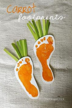 Paint those feet - DIY Easter Crafts for the Whole Family - Photos