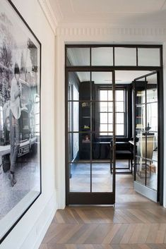 on't worry about failures worry about the chances you miss if you don't even try. Steel doors and white oak floors 👍🏻 via Custom Home Builders, Custom Homes, Crittal Doors, Interior Architecture, Interior Design, White Oak Floors, Shophouse, Steel Doors, Wood Doors