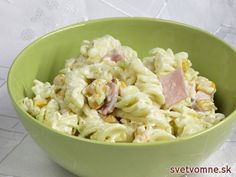Gouda, Tzatziki, Pasta Salat, Fusilli, Potato Salad, Salads, Potatoes, Ethnic Recipes, Syr