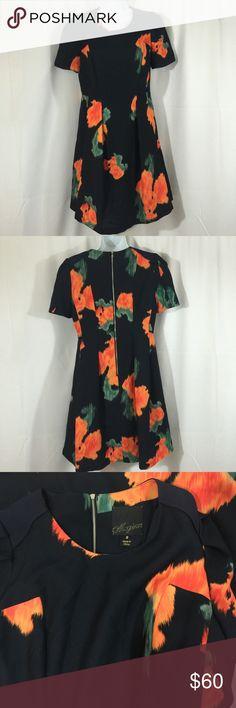 Anthropologie Mcginn sz 8 Poppy Pallette Dress Anthropologie Mcginn sz 8 Poppy Pallette Dress * lined with a zippered back. Anthropologie Dresses