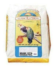 Cockatiel Miami Vita Mix 25 lb.
