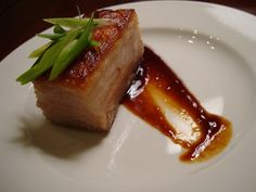 Sous Vide Pork Belly with Hoisin Sauce