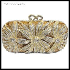 TF080 Crystal rhinestone clutch bag party bag
