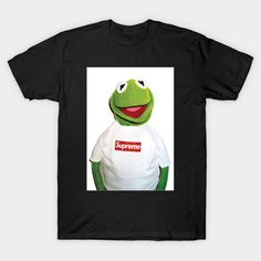 Supreme x Carmet the frog - T-Shirt | TeePublic Frog T Shirts, Supreme, Tees, Women, Fashion, Moda, T Shirts, Fashion Styles, Fashion Illustrations