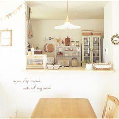 asamiさんの、リビング,照明,salut!,ナチュラルインテリア,ミルクガラスシェード,似たような写真ですみません,白と木が好き♡,お気に入りの眺め♡,建売を自分好みに♡,お金をかけずにかわいく,のお部屋写真