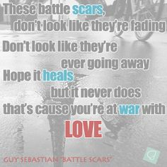 Guy Sebastian - Battle Scars #lyricquote