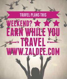 Travel plans this weekend? Use FREE #ZaldeeApp (www.zaldee.com) and earn while you travel It takes less than minute to list your journey and earn. Try it for free. It's quick & easy ❤️ Download ZALDEE app. It's FREE on App Store and Play store.  Zaldee® connects travelers and senders.   #ZALDEE #EarnWhileYouTravel #ZaldeeApp #ShipOnDemand #package #luggage #baggage #journey #courier #ExcessBaggage #shipping #travel #traveling #BudgetTravel #AirbnbOfShipping #CheapTravel #SharingEconomy