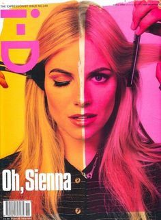 Style on the street: Sienna Miller on one of the i-D's best covers ever - N. 249, The Expressionist issue