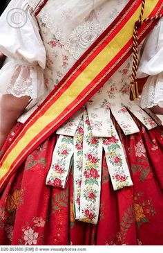 "Fallera"" dress, Valencia,Spain"