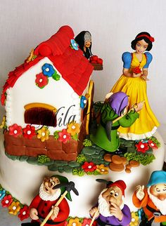 wedding cakes with pictures on them 1000 images about blancanieves on snow white 26076