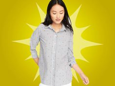 abef5b13f47 Mad Deals Of The Day  A  19 Heart Embellished Button-Up From Old Navy And  More