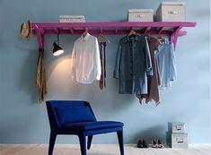 3 ideias para você fazer a sua própria arara de roupas.   Overdose V.I.P   por Bárbara Thamíres