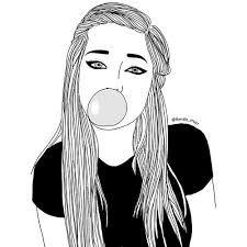 Resultado de imagen para tumblr outlines drawing