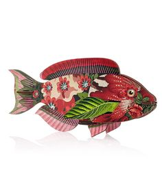 Miho Abracadabra Fish Ornament