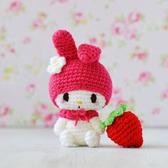 My Melody Hello Kitty Crochet