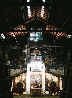 Romantic meets industrial Portugal wedding