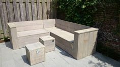 Lounche set, made by hamegmeubels.