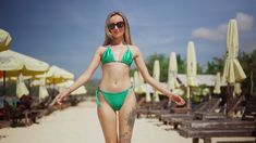 Bikini Try On, Bikinis For Teens, Bikini Bottoms, Eye Candy, Sand Beach, Sexy, Swimwear, Youtube, Model