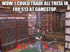 Geek Humor | Wow! | From Jason Malan - Google+  #gamers #gamestop #funny