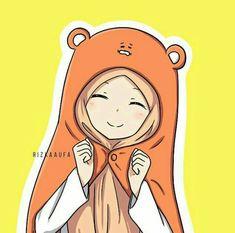 Art Drawings Beautiful, Cute Drawings, Pencil Drawings, Anime Chibi, Kawaii Anime, Hijab Drawing, Islamic Cartoon, Hijab Cartoon, Islamic Girl