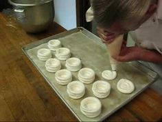 SAVEURS HOW TO MAKE SWISS MERINGUE WITH JULIAN FAMOUS FRENCH CHEF FROM DARTMOUTH UK - YouTube