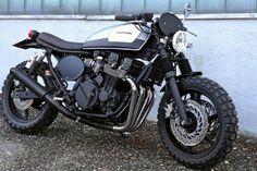 1993 Honda CB750 Nighthawk - Aniba Motorcycles - Inazuma Cafe Racer