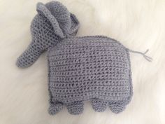 Super cute for boy or girl room   Elephant Baby Pillow