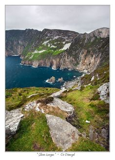 #Ireland, Slieve League, Co. Donegal, photo by Steve Emerson