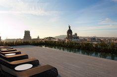Terrat Rooftop Seaview at Mandarin Oriental, Barcelona | Flickr - Photo Sharing!