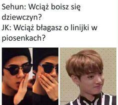 Funny kpop memes for us kpop trashes to enjoy K Meme, Funny Kpop Memes, Exo Memes, Bts 2018, Taekook, Sehun, Got7, Bts Amino, Bts And Exo