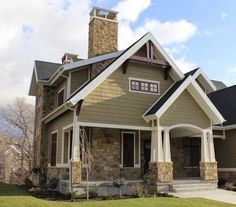 exterior paint colors vintage #exteriorhousepaint More at - Stylendesigns.com!