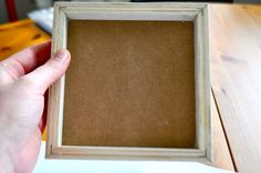 turn a stretched canvas into a shadow box