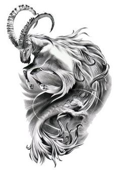 pretty capricorn tattoos - Google Search