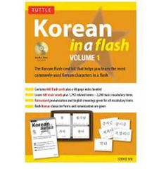 Korean in a Flash: Volume 1 (In a Flash (Tuttle)) : Mixed media product : Soohee Kim : 9780804842389