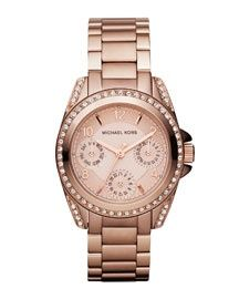 I really want a rose gold Michael Kohrs watch....
