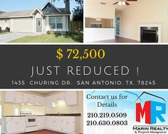 2 BEDROOM TOWNHOME JUST REDUCED!!   CONTACT US ANYTIME!!! MARIN REALTY & PROP.MGMT.