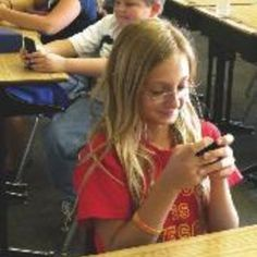 Cellular devices are actually having a positive influence on learning in classrooms and a lot of schools have implemented the use of cell phones to increase learning. (0347)