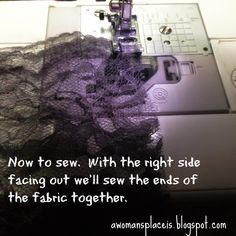 Beyond Pearls.: How to Make Your Own Eternity Veil: A Tutorial Autism Blogs, Make Your Own, Make It Yourself, Chapel Veil, Near To You, The One Show, French Seam, Joann Fabrics, Sewing Projects