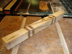 Kitchen Treasures #1 Making the Celtic Knot Rolling Pin #4: Glue Up and Trimming…