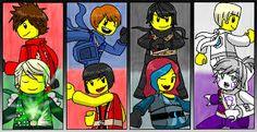 Znalezione obrazy dla zapytania lego ninjago -seliel the phantom ninja