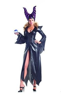 e309307f32fb Adult Women s 2 Piece Sexy Maleficent Halloween Party Costume