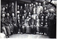 Dr Usui with his pupils. - repinned by touchpointtherapy.com